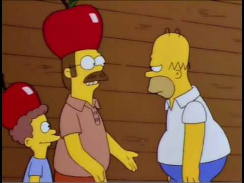 The Simpsons - Ned Flanders: Apple Cider vs. Apple Juice.