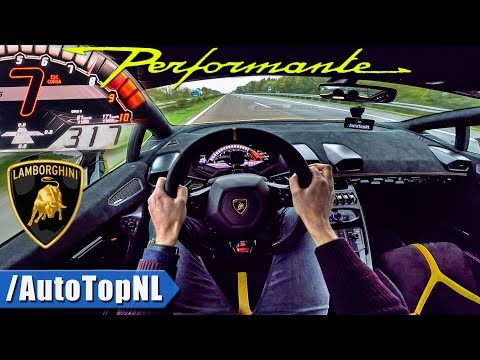 Lamborghini Huracan Performante AUTOBAHN POV by AutoTopNL