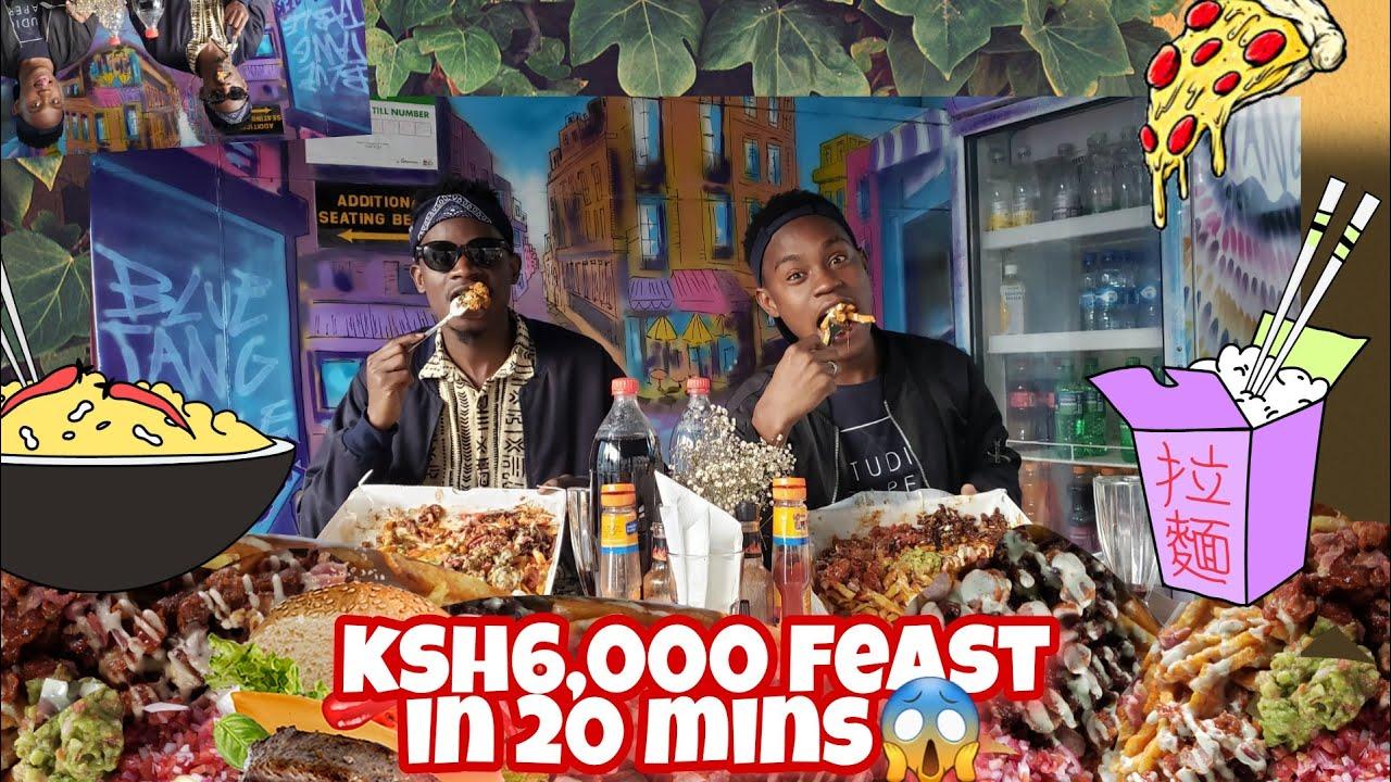 FINISHING KSH6,000 JUNK FOOD FEAST IN 20 MINUTES MUCKBANG!!😱🔥