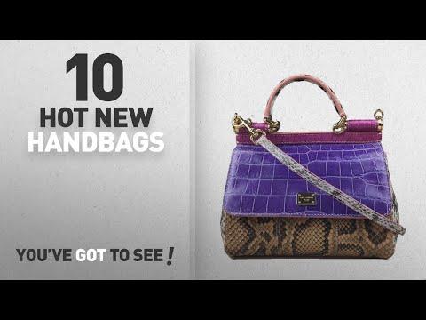 Dolce & Gabbana Handbags & Wallets [2018 New Arrivals]: DOLCE & GABBANA Miss Sicily Crocodile Python