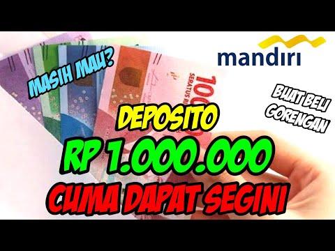 Deposito di Bank Mandiri Cuma Dapat Segini??? | BOY TK - DEPOSITO