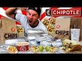 The Supercharged Chipotle Menu Challenge 12,000+ Calories