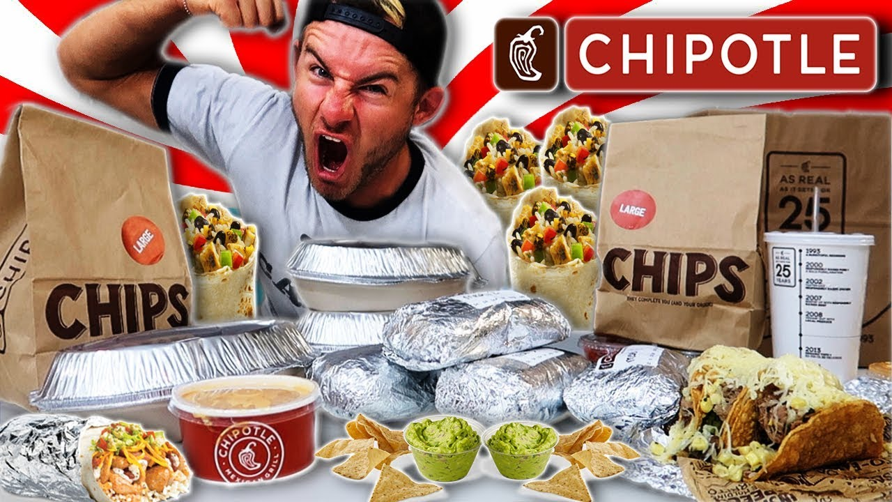 The Supercharged Chipotle Menu Challenge 12 000 Calories