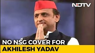 Akhilesh Yadav To Lose Top Security Cover After Centre's Review: Sources