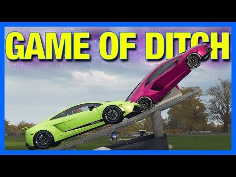 Forza Horizon 4 Online : GAME OF DITCH!!