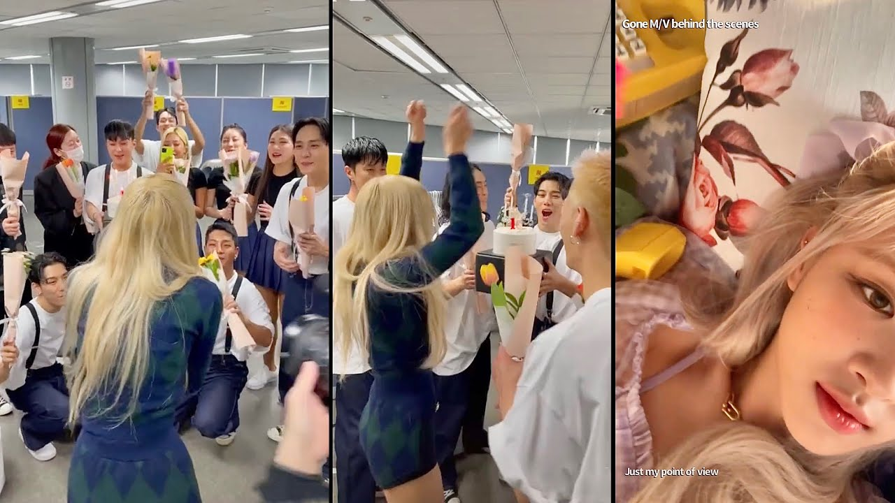 SURPRISE FOR ROSÉ FROM THE DANCERS, Gone Behind The Scenes