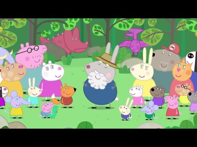 Peppa Pig 粉红猪小妹 第五季16【兔爺爺的恐龍樂園】中文版