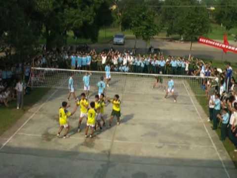 Bế mạc giải thi đấu bóng chuyền Học viện Phòng không - Không quân