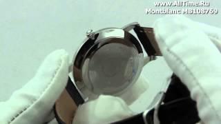 Обзор. Мужские наручные часы Montblanc MB108769
