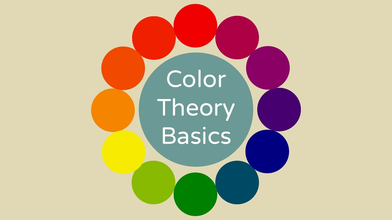 Basics Of Color Theory color theory basics - youtube