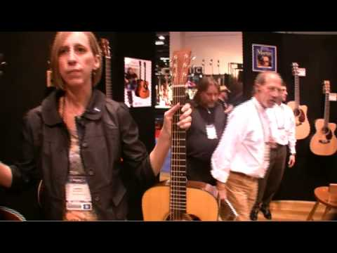 Martin guitars NAMM 2009 Portland Music Company