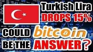 Turkish Lira PLUMMETS and gives Cryptocurrency more CREDIBILITY