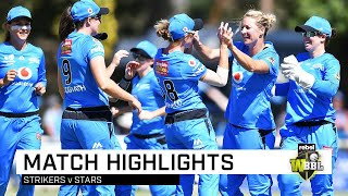 Silky Strikers prove too strong for Stars | Rebel WBBL|05