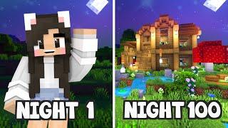 💙100 NIGHTS In a Minecraft World