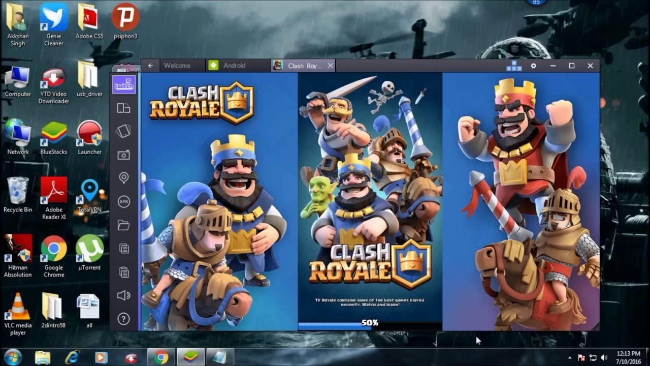 bluestacks clash royale error