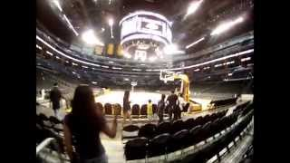2014 Lakers STH Select A Seat Day 8-13-14