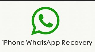 How to retrieve deleted whatsapp messages on iPhone