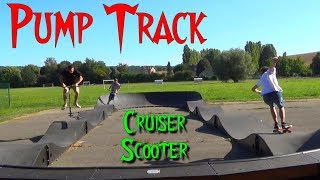 Le Pump Track Crcy La Chapelle - ARSS 4 avec Grald et Thibaut