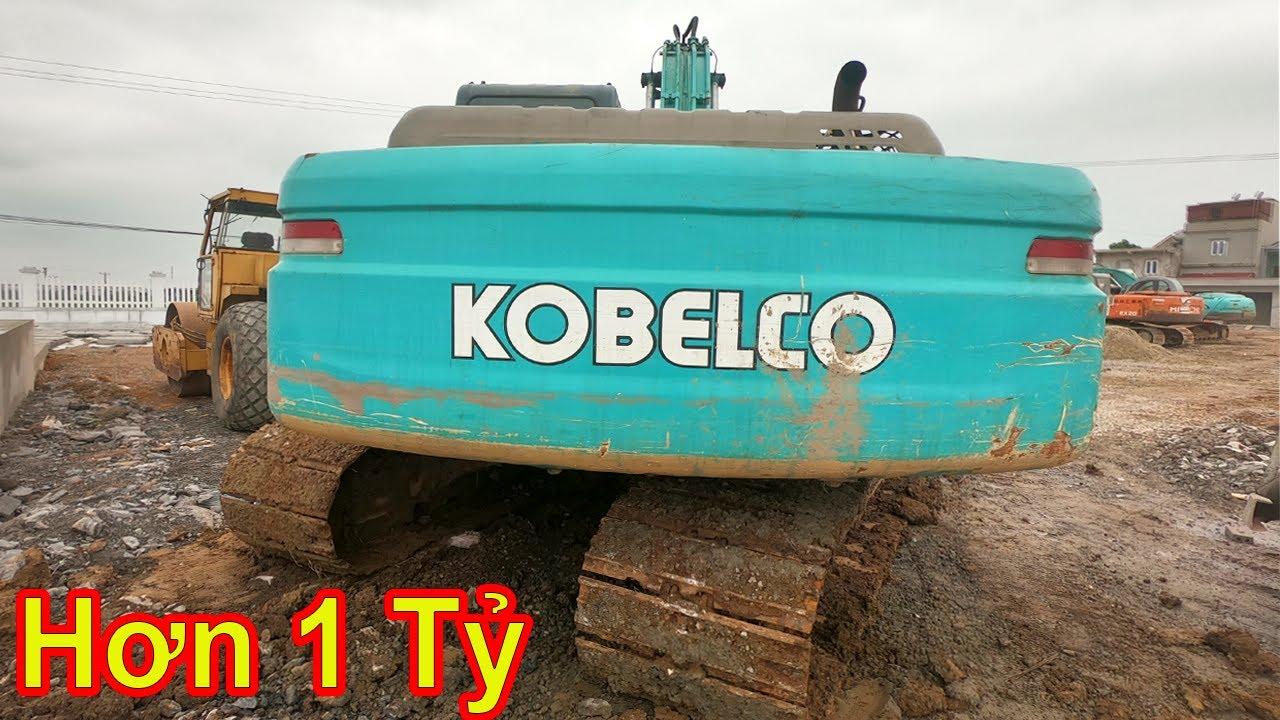 Chi Tiết Siêu Phẩm KOBELCO SK200-8 Gía Hơn 1 Tỷ Đồng | review excavator | Xuân Mạnh Vlogs