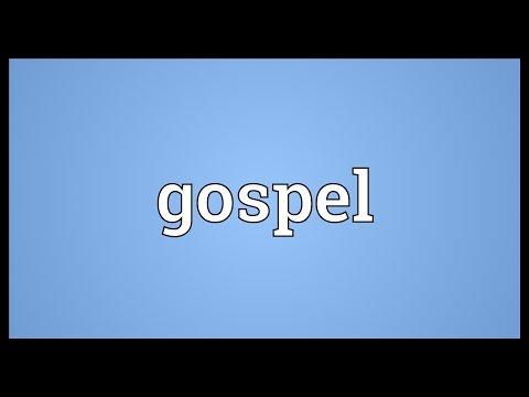 Gospel Meaning