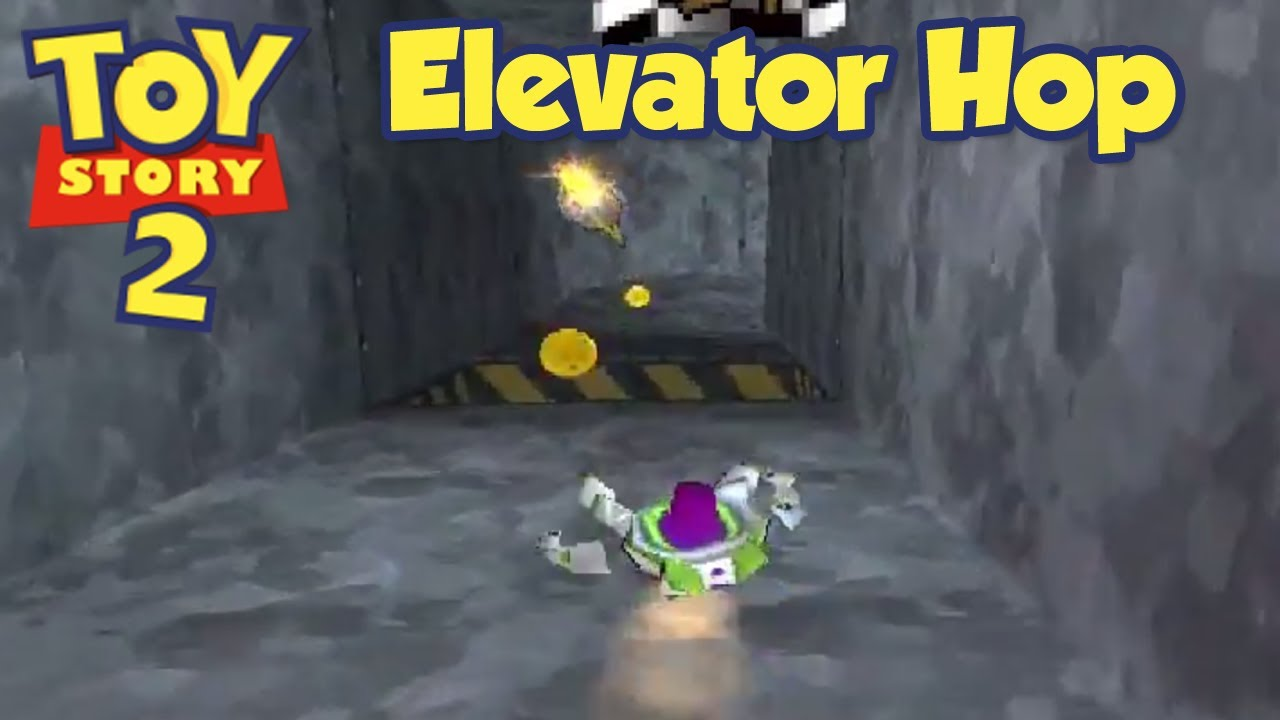 Toy story 2 ps1 elevator hop hd youtube for 1 story elevator