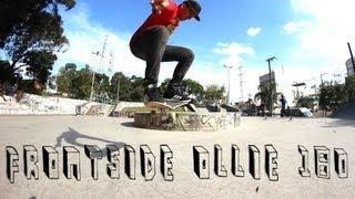 Como Mandar Frontside Ollie 180 | Tutorial + Dicas
