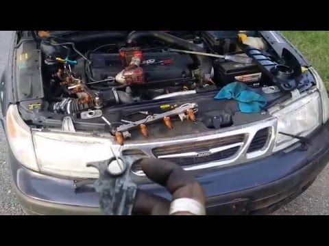 Fuel rail removal trick quick release