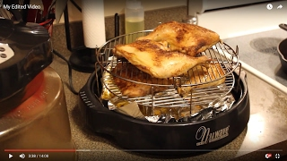 NuWave Oven Chicken Quarters!   Late night snack!