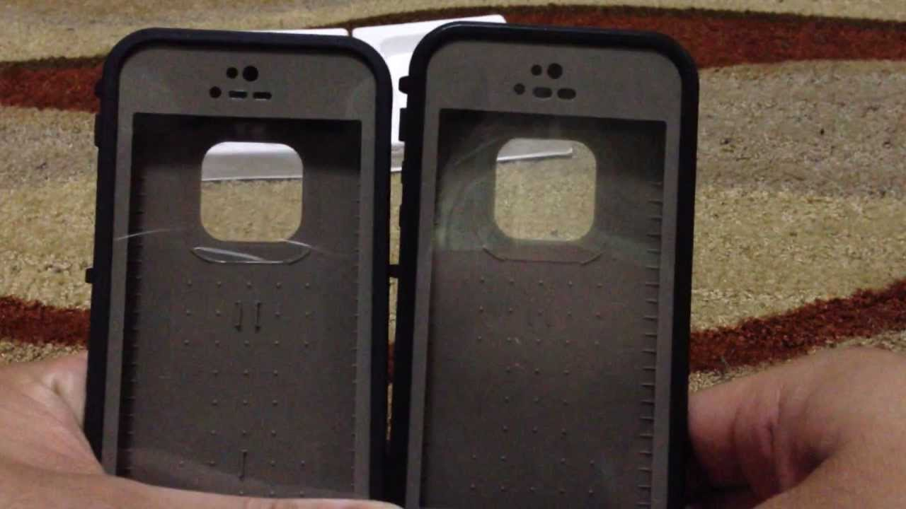 best sneakers 48079 64456 Comparison between Real Lifeproof and $14.99 Fake Lifeproof