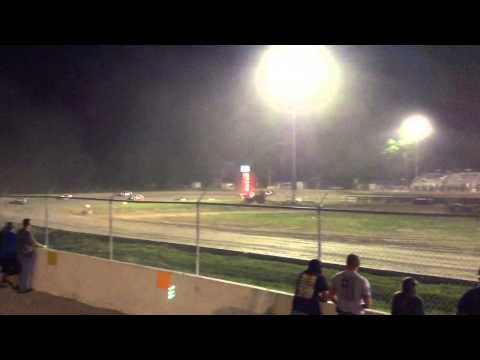 34 raceway 6-6-15 stock car feature pt3