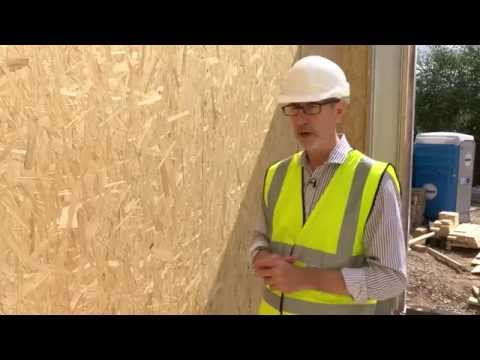 Potton's Self Build Live - Installing Structural Insulated Panels (SIPs)