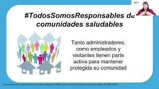 Recomendaciones CDC para COVID-19 en Comunidades de Retirados e Instituciones de Vida Independiente