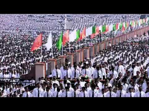Indian national anthem by 1,21,653 , guiness world record