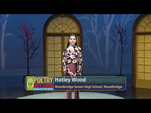 Poetry Out Loud: 2017 Virginia Finals