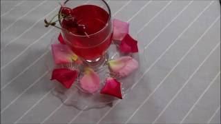 Limonade me petale trendafili - Lemonade with rose petals