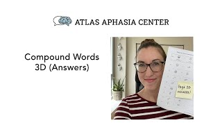 Compound Words - Page 3 (Answers)