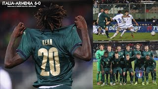 U21 - Italia-Armenia 6-0 - Radiocronaca di Giuseppe Bisantis & Sergio Brio (19/11/2019) Rai Radio 1