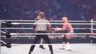 WWE Superstars Live In Seattle - Dolph Ziggler vs Shelton Benjamin [3-9-2010]
