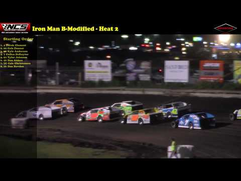 Iron Man B-Modified -- 8/24/17 -- Nobles County Speedway