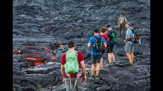 "Official ""Lava Safe"" tips from Hawai'i Volcanoes National Park"