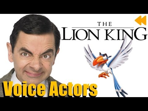 """The Lion King"" Voice Actors and Characters"