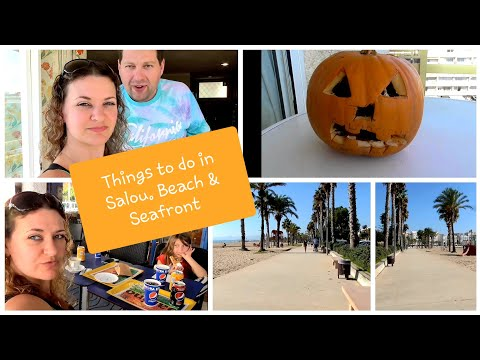THINGS TO DO IN SALOU, BEACH & SEAFRONT