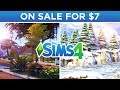 THE SIMS 4 IS ON SALE FOR $7! 💸🤑 // The Sims 4: News & Info