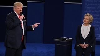 The Most Talked About Moments from The Trump-Clinton Town Hall Debate