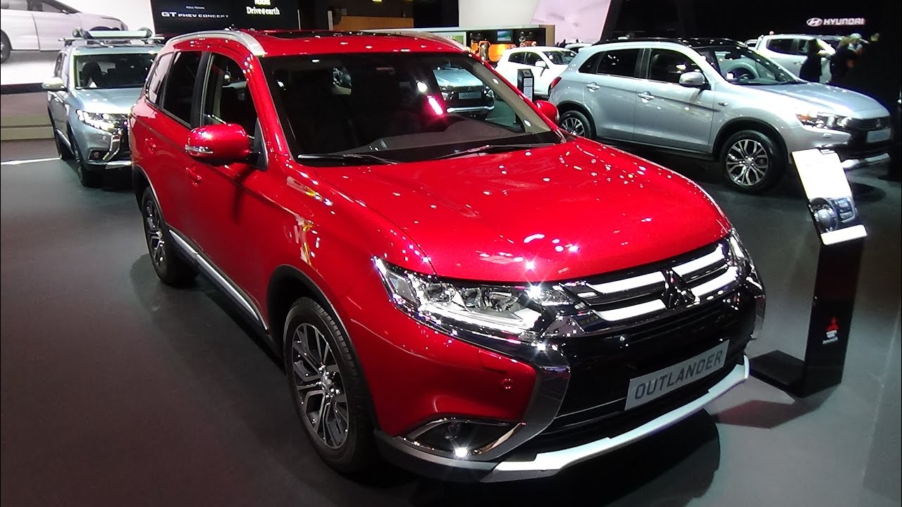 2017 mitsubishi outlander exterior and interior paris - Mitsubishi outlander 2017 interior ...