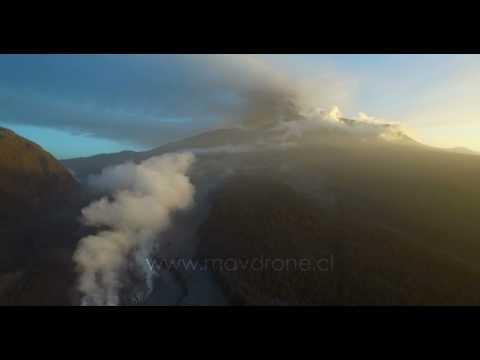 Aftermath of Calbuco Volcano Eruption - April 2015   4K UHD