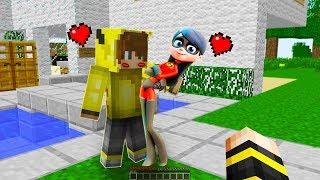 ARKADAŞIM İNANILMAZ AİLE VİOLET İLE ÖPÜŞTÜ! 😱 - Minecraft