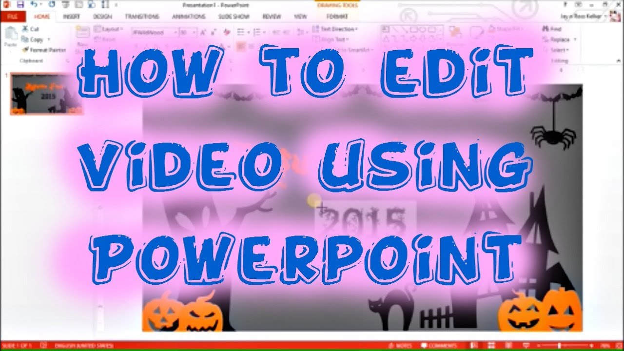 How To Edit Video Using Powerpoint