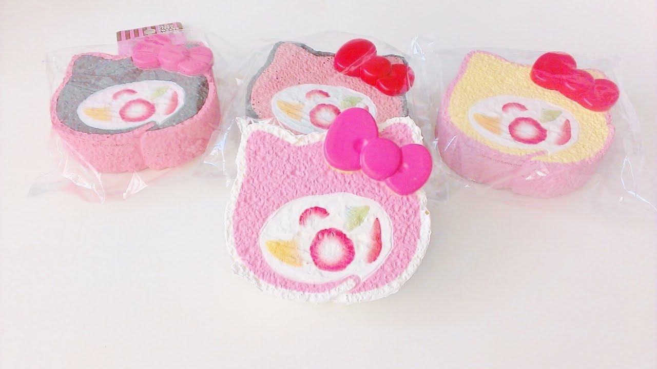 Squishy Disney Cake Roll :  HK Cake Roll Squishy (Reproduced)  - YouTube