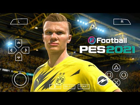 PES 2021 PPSSPP Season Update 2021 Android Offline 600MB Best Graphics New Face Kit & Last Transfers